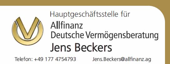 Allfinanz Jens Beckers